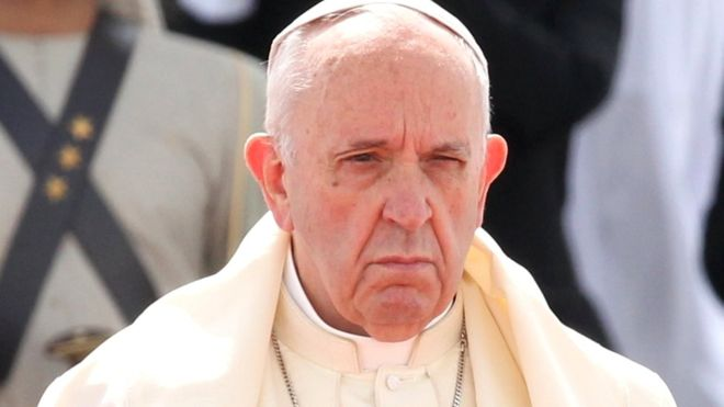 Pope admits clerical abuse of nuns including sexual slavery