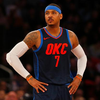 Carmelo is on the move to LaPossibly