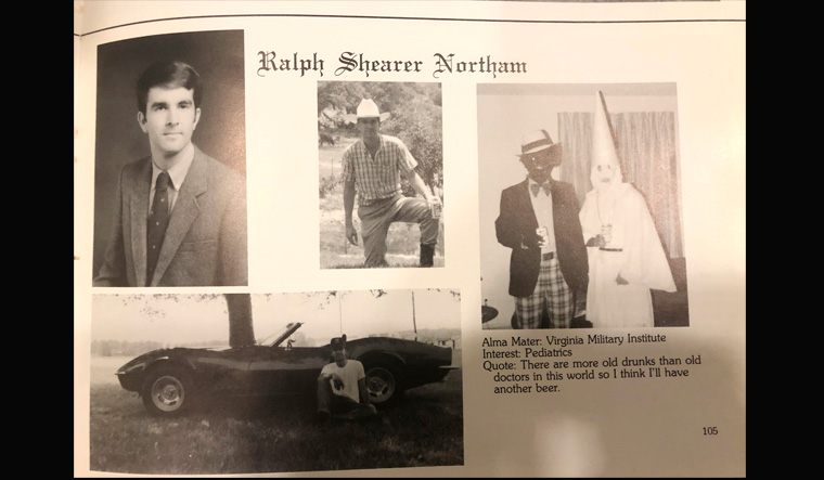 Dem governor under fire for shocking racist yearbook image