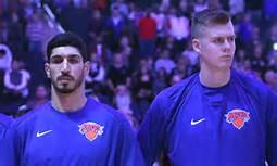 Knicks made a big trade today Kristaps Porzingis ToDallas