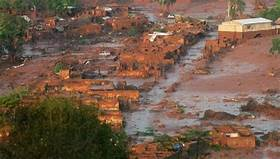 Horrifying video shows the moment a dam burst in Brazil and caused a mudslide that has killed 110 and left 248 people still unaccounted for