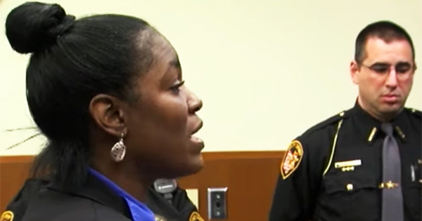 A BLACK MOTHER WAS CONVICTED ON FELONY CHARGES FOR TRYING TO GET HER KID IN A BETTER SCHOOL THAT WAS NOT IN HER DISTRICT 3/18/2019