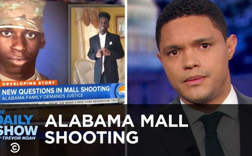 "Trevor Noah Says The Second Amendment Is ""Not Intended For Black People"" 3/23/2019"