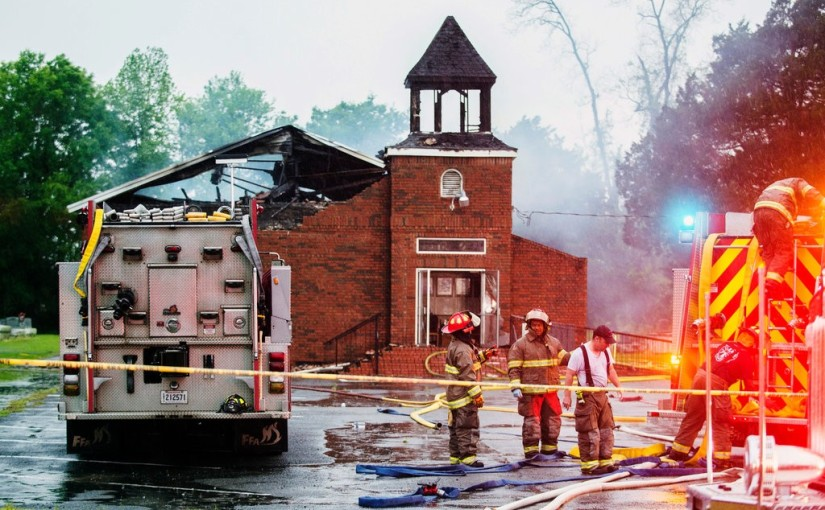 3 Black Churches Have Burned in 10 Days in a Single Louisiana Parish 4/8/2019