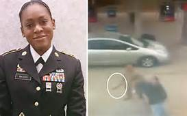 Army woman face road rage defends herself calls 911 and she is arrested 4/15/2019