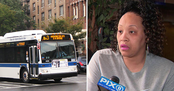 Female Bus Driver Got Urine Thrown In Her Face4/16/2019