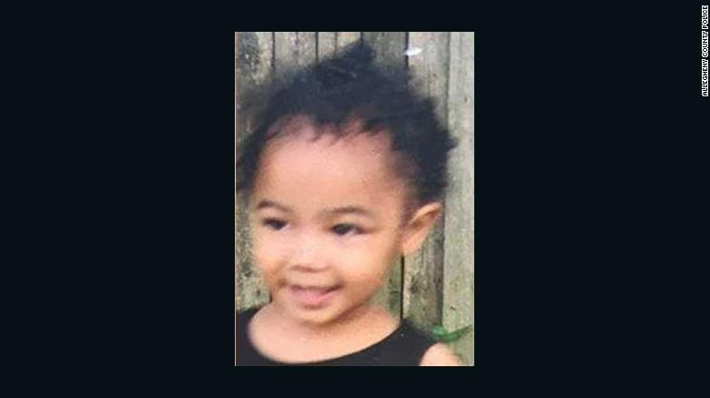 Driver charged in missing toddler case says child was sold for $10,000, police in Pennsylvaniasay